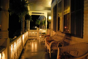 Porch Firefly Evening June 10 201 Claiborne House blog